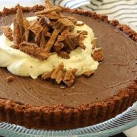 Tim Tam Mousse tart